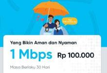 Cara Membeli Promo Paket byU Unlimited Speed 1Mb 30 hari