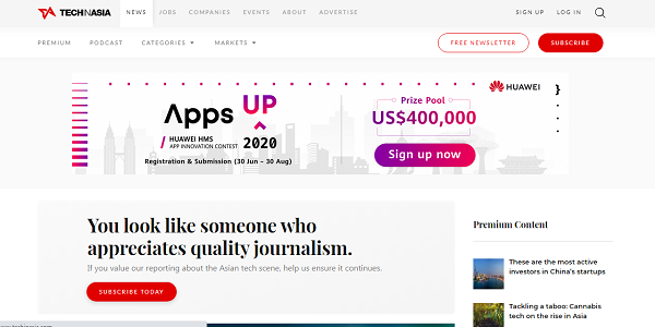 Situs Lowongan Kerja IT Techinasia.com