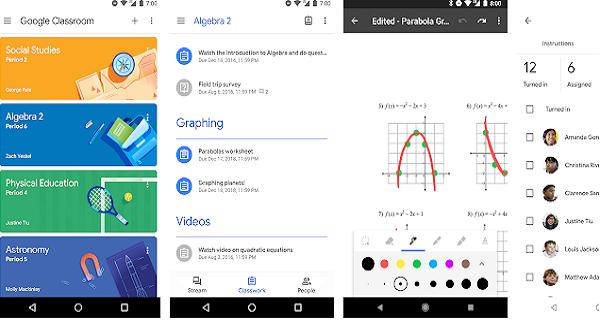 Google Kelas Aplikasi belajar online terbaik