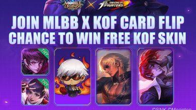Cara Mendapatkan Hadiah dari Event MLBB X KOF Card Flip Mobile Legends