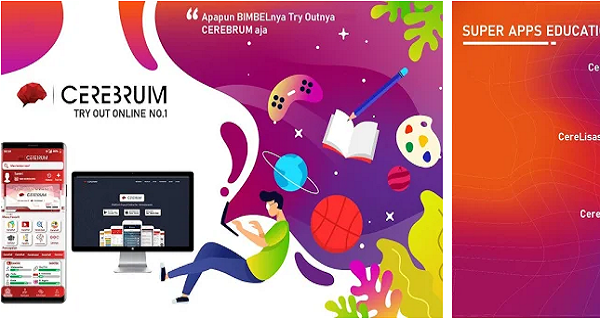 Aplikasi Cerebrum belajar online