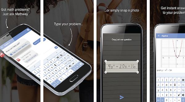 Aplikasi Mathway belajar online