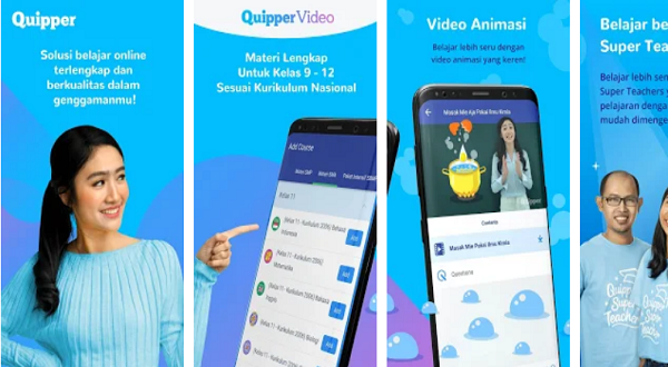 Aplikasi Quipper belajar online
