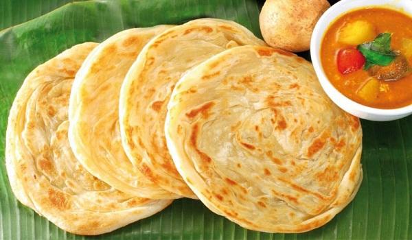Makanan Khas Roti Canai / Roti Maryam