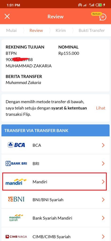 cara kirim uang dari Aplikasi LinkAja