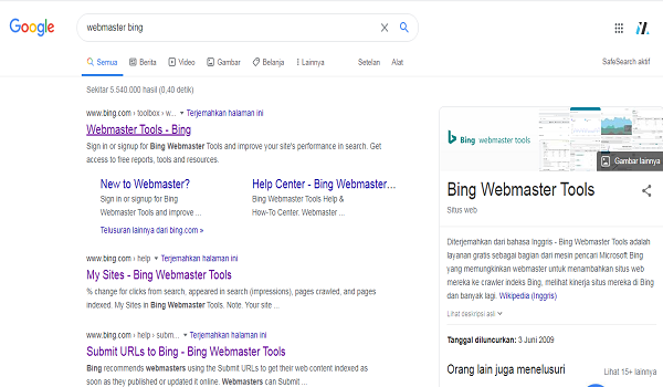 webmaster wordpress