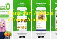 Aplikasi Etanee Android
