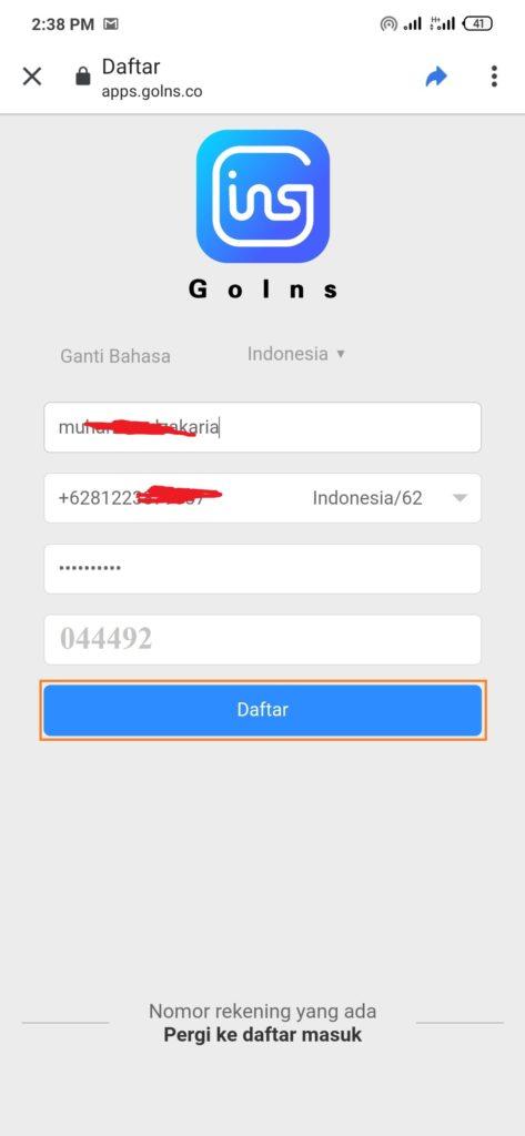 Cara Mudah Menghasilkan Uang dari Aplikasi Goins Android