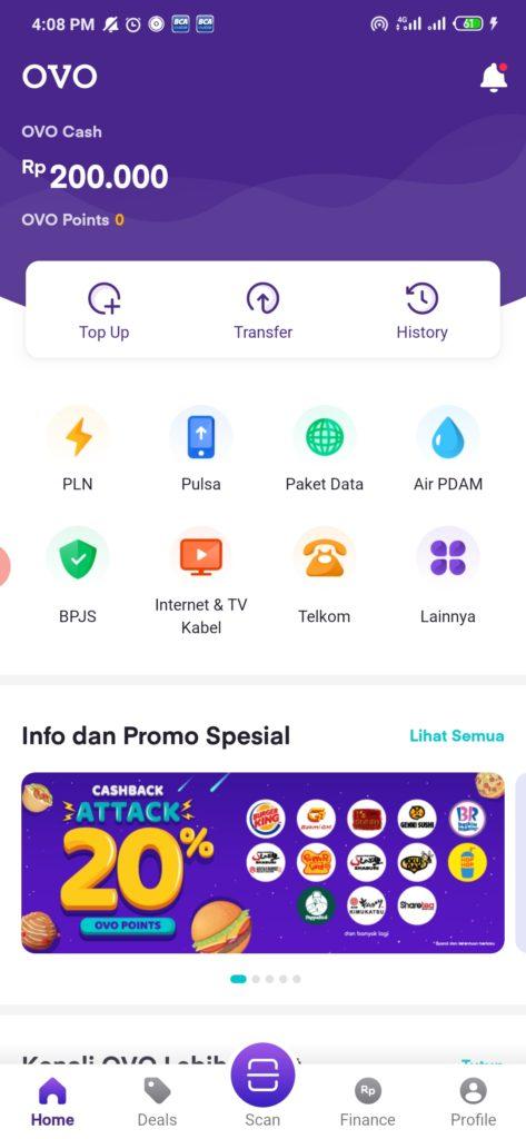 Cara Topup Aplikasi Global Mall Android