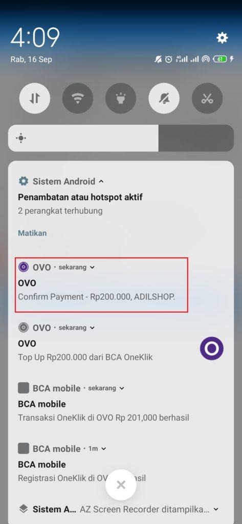 cara deposit aplikasi global mall