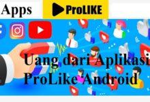 uang dari aplikasi prolike