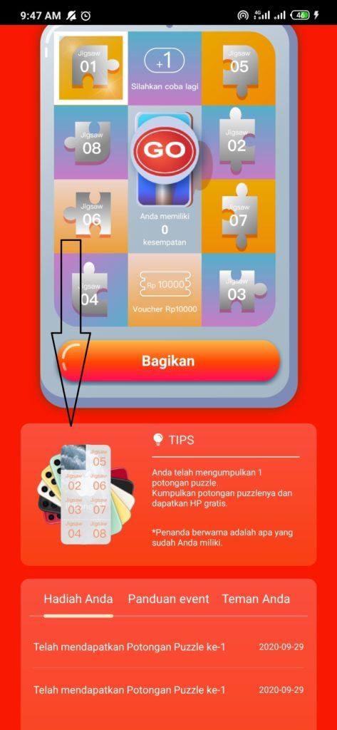 hadiah hp gratis iphone 11 terbaru