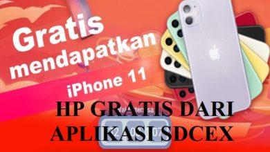 Cara Mendapatkan iPhone 11 Gratis dari Aplikasi SDCEX