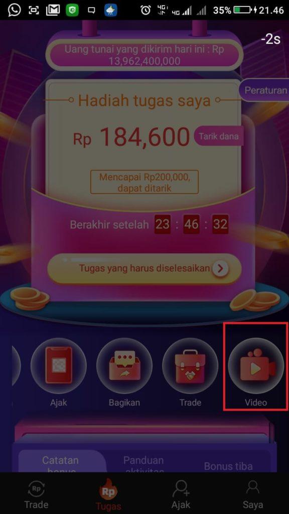Cara Mengerjakan Misi dari Aplikasi SDCEX Android Untuk Mendapatkan 200 ribu