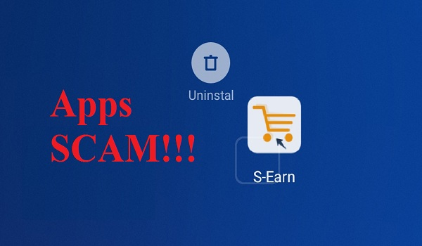 aplikasi S-Earn Scam