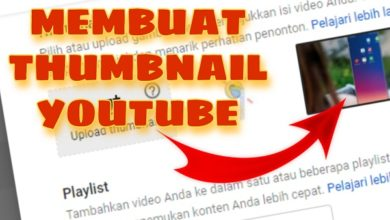 Membuat Thumbnail Youtube