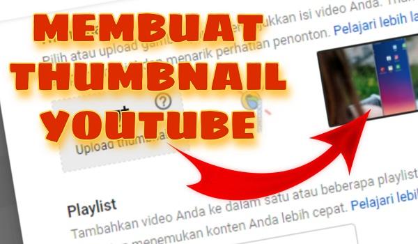 Membuat Thumbnail Youtube