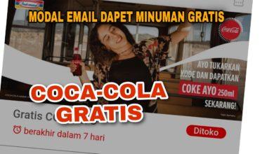 Cara Mendapatkan Coca Cola Gratis