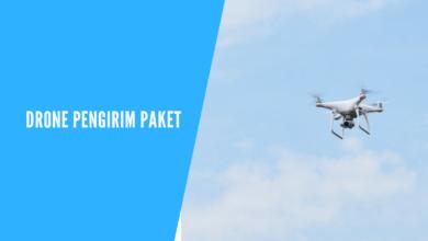 drone pengirim paket