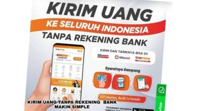 Kirim uang tanpa rekening bank dengan TrueMoney