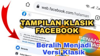 Versi Klasik Facebook