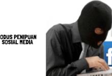 Modus penipuan lewat sosial media
