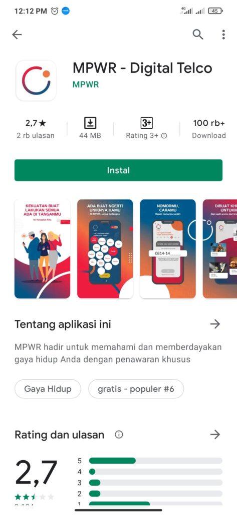 Cara Mendapatkan Promo Paket 10 GB dari Kartu Perdana Digital MPWR