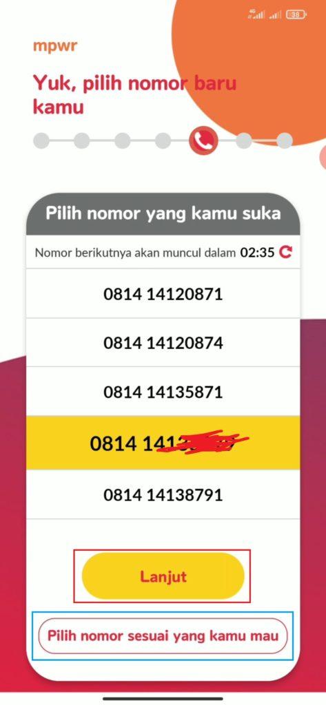 memesan kartu perdana serba digital dari Indosat MPWR
