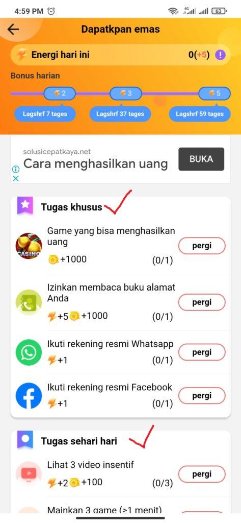 misi dari aplikasi play play
