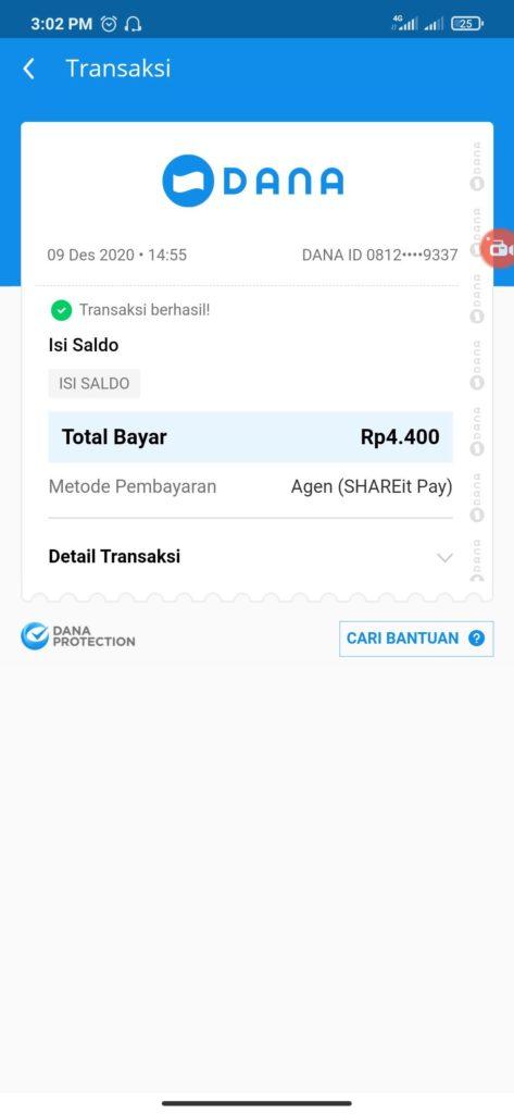 Bukti Pembayaran dari Aplikasi Play Play Terbaru