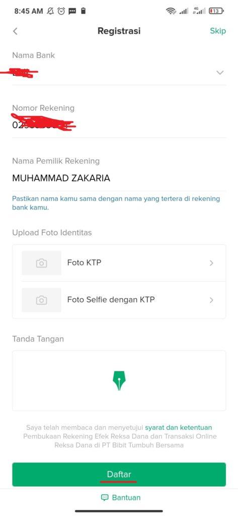 Cara Verifikasi KTP dari Aplikasi Bibit