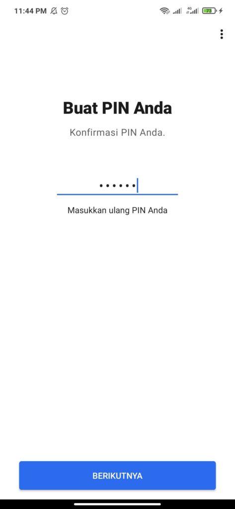 Cara Membuat PIN aplikasi Signal