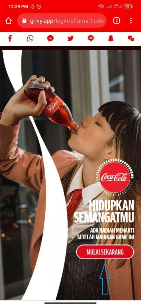 Cara Membuat Akun Lebih dari Satu Untuk Mendapatkan Minuman Coca Cola Gratis dari Alfamart
