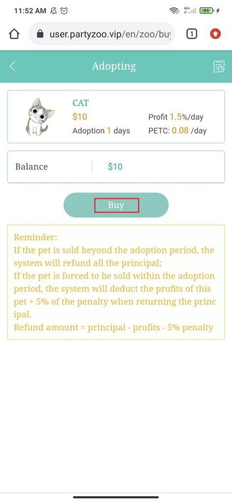 Cara Membeli Hewan Peliharaan dari Aplikasi Party Zoo