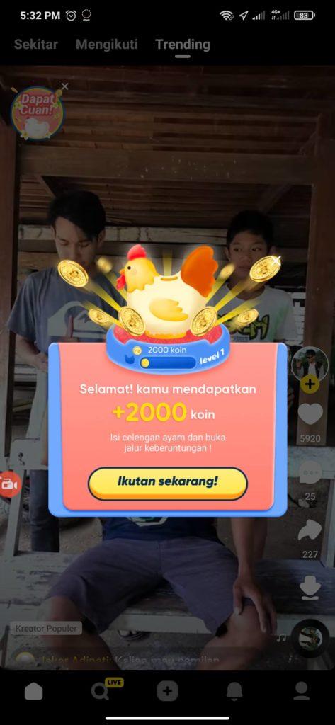 Cara Mendapatkan Saldo Gopay Gratis dari Aplikasi Snack Video