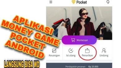 Aplikasi Money Game Pocket Android