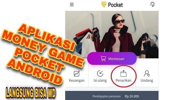 Aplikasi Money Game Pocket Android
