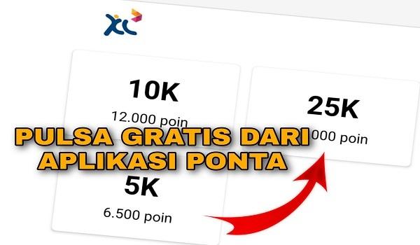 Cara Mendapatkan Pulsa XL dari Aplikasi Ponta