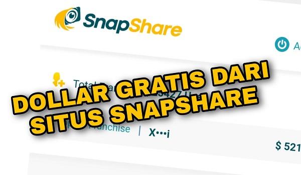 Cara Mudah Mendapatkan Uang dari Situs Snap Share