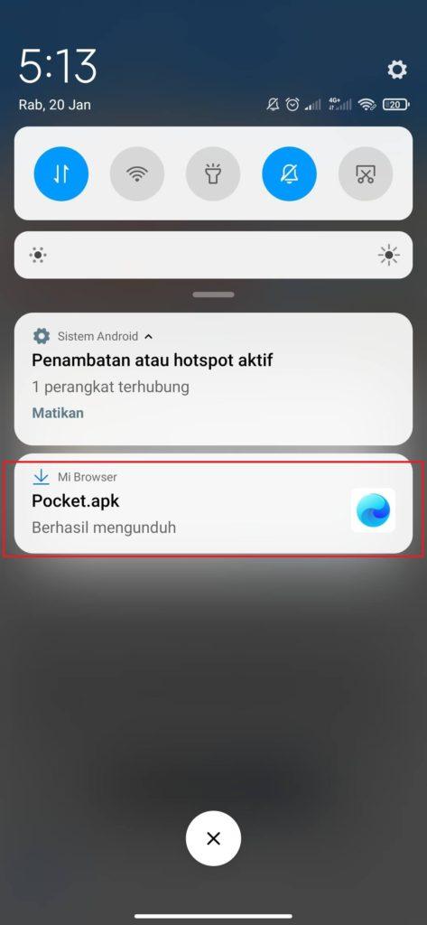 Cara Instal Aplikasi Money Game Pocket Android