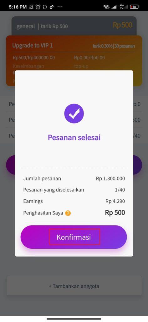 Cara Mengerjakan Misi dari Aplikasi Money Game Pocket Android