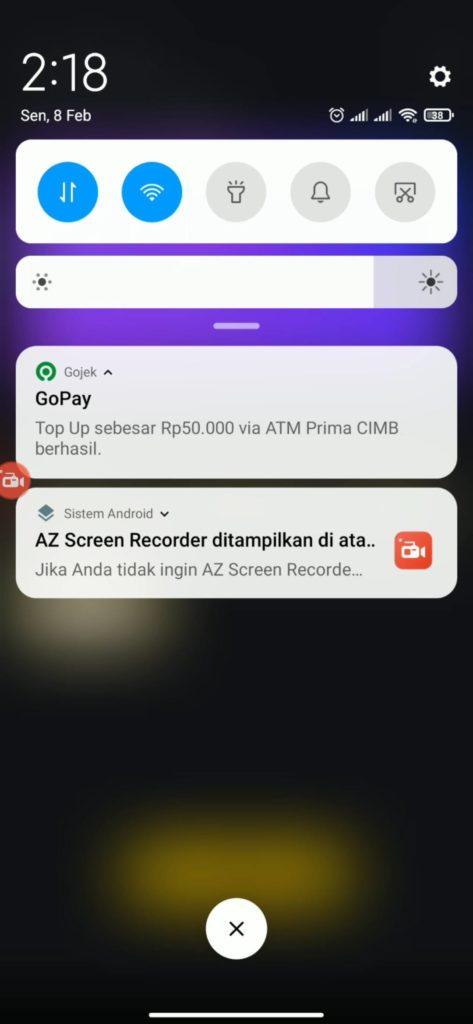 Bukti Pembayaran dari Aplikasi Snack Video Terbaru