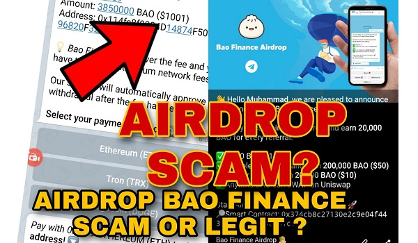 Apakah Airdrop Telegram BAO Finance SCAM ?