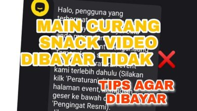 Apakah Main Curang Aplikasi Snack Video Mendapatkan Bayaran ?
