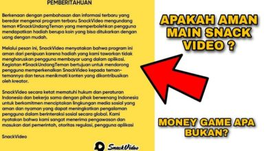 Apakah Snack Video Aman dan Bukan Money Game ?