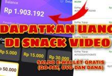 Cara Mendapatkan Uang di Snack Video Terbaru