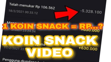 Koin Snack Video Berapa Rupiah ?