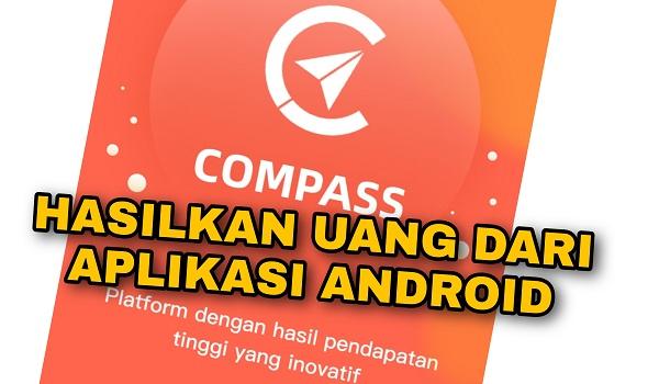Review Aplikasi Compass Aplikasi Penghasil Uang Dari Android