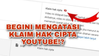 klaim hak cipta Youtube