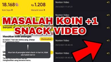 3 Cara Mengatasi Koin +1 Snack Video Terbaru 2021
